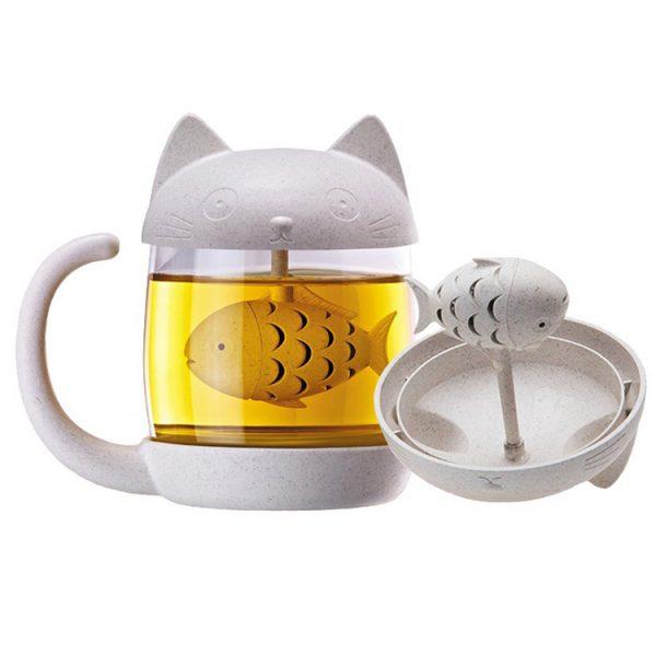 Luhovač čaju s mačkou 1 - pre milovníkov mačiek