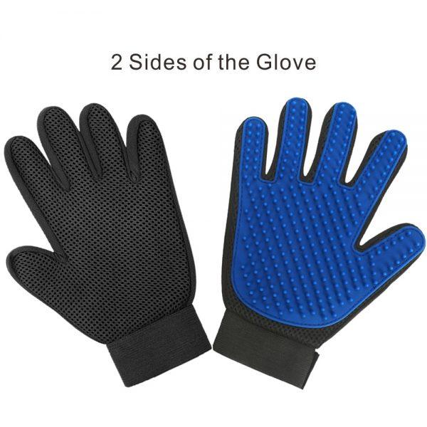 Vyčesávacia rukavica - ľavá 3 - pre milovníkov mačiek