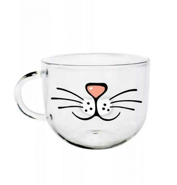 Hrnček - fúziky a nos 2 - pre milovníkov mačiek