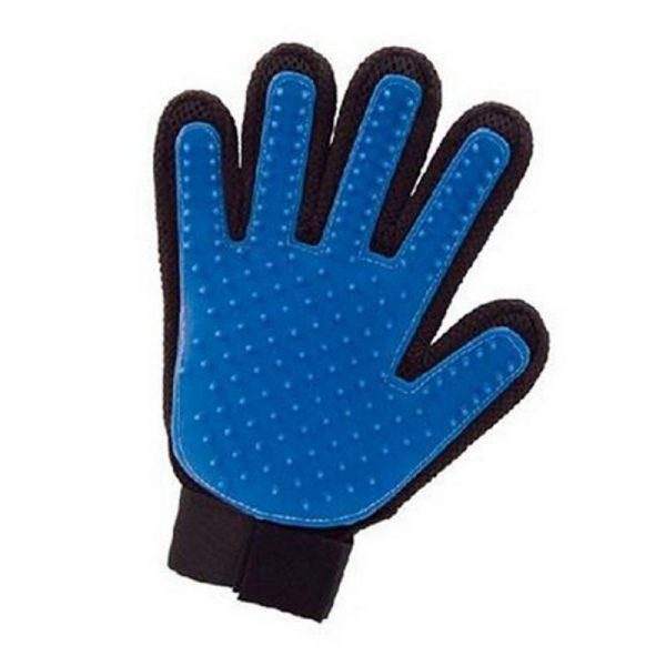 Vyčesávacia rukavica - ľavá 1 - pre milovníkov mačiek