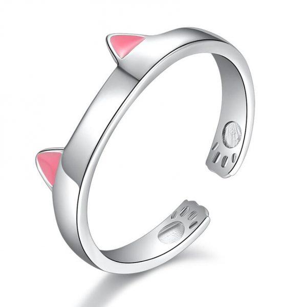 Prstienok s ružovým uškami 1 - pre milovníkov mačiek
