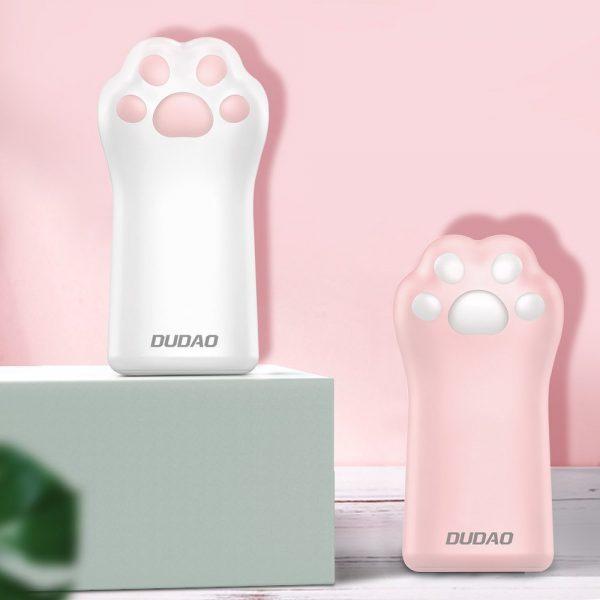 Power banka - mačacia labka - DUDAO, 5000mAh, 1A 3 - pre milovníkov mačiek
