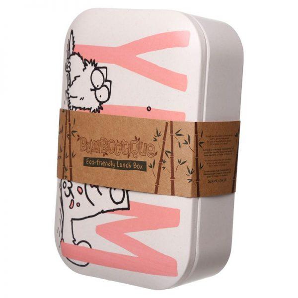 Krabička na jedlo z bambusového kompozitu Simon 's Cat 1 - pre milovníkov mačiek