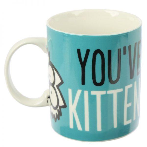 Porcelánový hrnček Simon's Cat - Kitten Slogan 4 - pre milovníkov mačiek