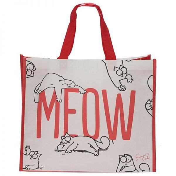Simon's Cat - nákupná taška meow 1 - pre milovníkov mačiek