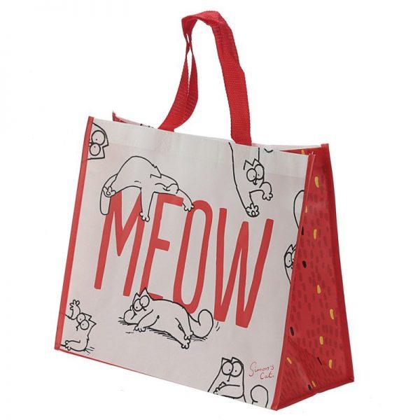 Simon's Cat - nákupná taška meow 3 - pre milovníkov mačiek