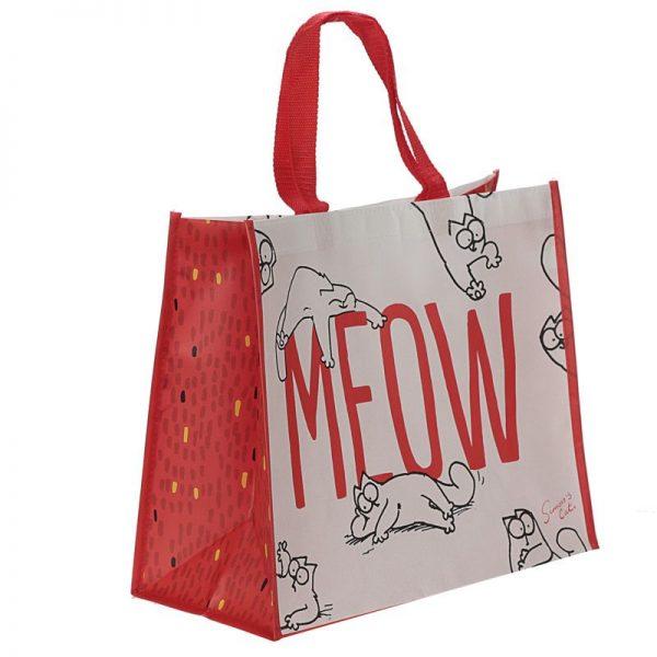 Simon's Cat - nákupná taška meow 2 - pre milovníkov mačiek