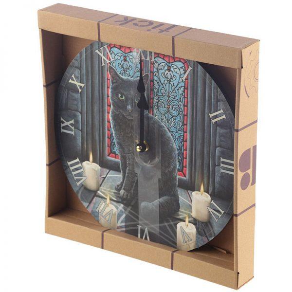 Nástěnné hodiny Posvátný kruh, design Lisa Parker 4 - pre milovníkov mačiek