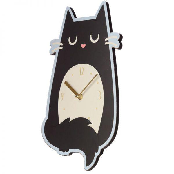 Nástěnné hodiny Feline Fine Kočka 4 - pre milovníkov mačiek