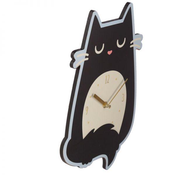 Nástěnné hodiny Feline Fine Kočka 5 - pre milovníkov mačiek