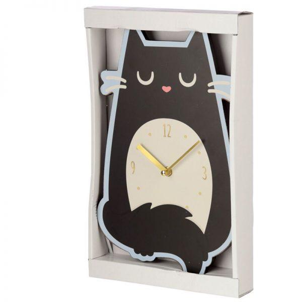 Nástěnné hodiny Feline Fine Kočka 6 - pre milovníkov mačiek