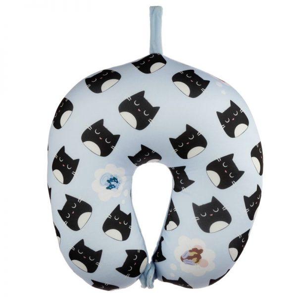 Cestovní polštářek & maska na oči Feline Fine Kočka 2 - pre milovníkov mačiek