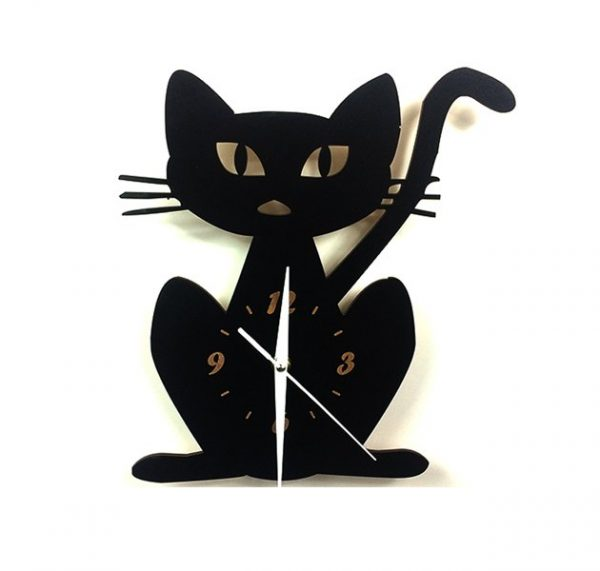 Mačacie hodiny - mačka 1 - pre milovníkov mačiek