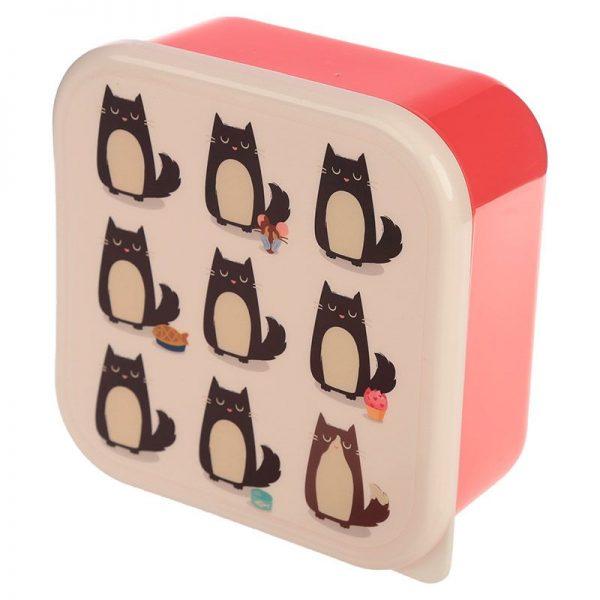 Sada 3 krabiček na jídlo Feline Fine Kočka 3 - pre milovníkov mačiek
