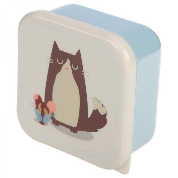 Sada 3 krabiček na jídlo Feline Fine Kočka 5 - pre milovníkov mačiek