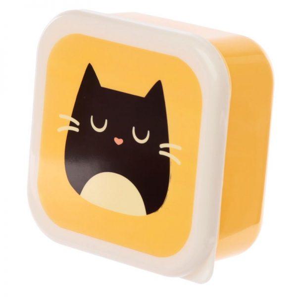 Sada 3 krabiček na jídlo M/L/XL - Feline Fine Kočka 5 - pre milovníkov mačiek