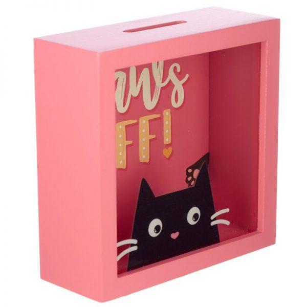 Pokladnička s mačkou Feline Fine mačka - Paws Off 3 - pre milovníkov mačiek