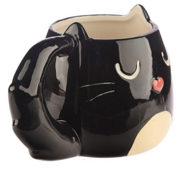 Hrnek ve tvaru černé kočky Feline Fine 5 - pre milovníkov mačiek