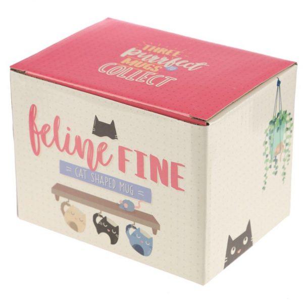 Hrnek ve tvaru černé kočky Feline Fine 6 - pre milovníkov mačiek