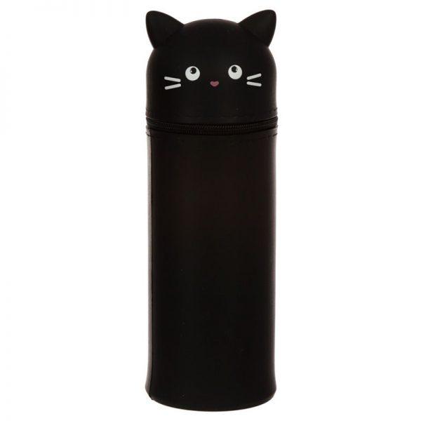 Silikonové pouzdro na tužky Feline Fine Kočka, kulaté stojící 1 - pre milovníkov mačiek