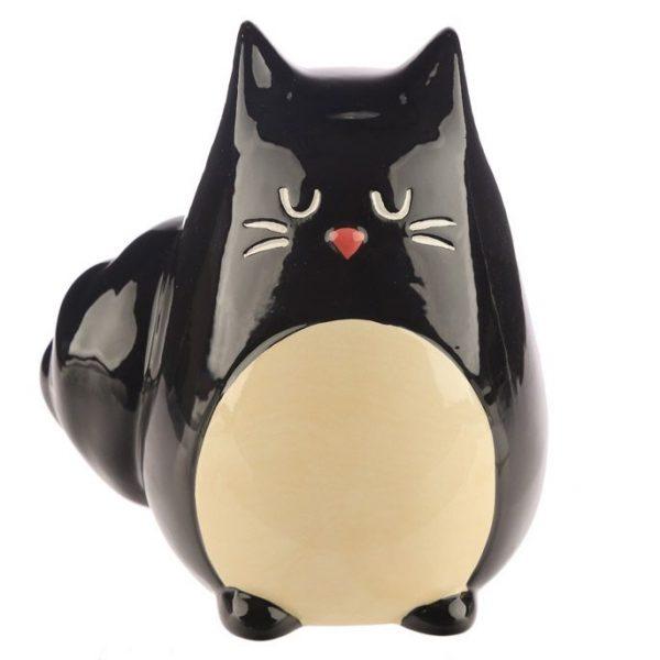 Pokladnička - Čierna mačka Feline Fine 6 - pre milovníkov mačiek