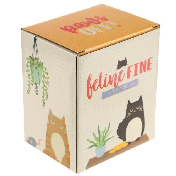 Pokladnička - Čierna mačka Feline Fine 2 - pre milovníkov mačiek