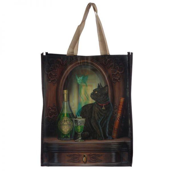 Taška s mačacím motívom - Absinth, Lisa Parker 2 - pre milovníkov mačiek