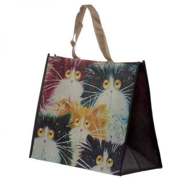 Taška s mačacím motívom - mačky, Kim Haskins 1 - pre milovníkov mačiek