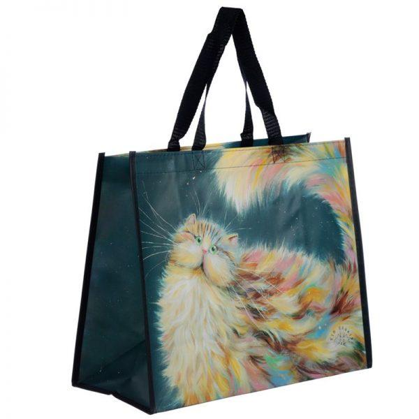Taška s mačacím motívom - dúhová mačka, Kim Haskins 1 - pre milovníkov mačiek