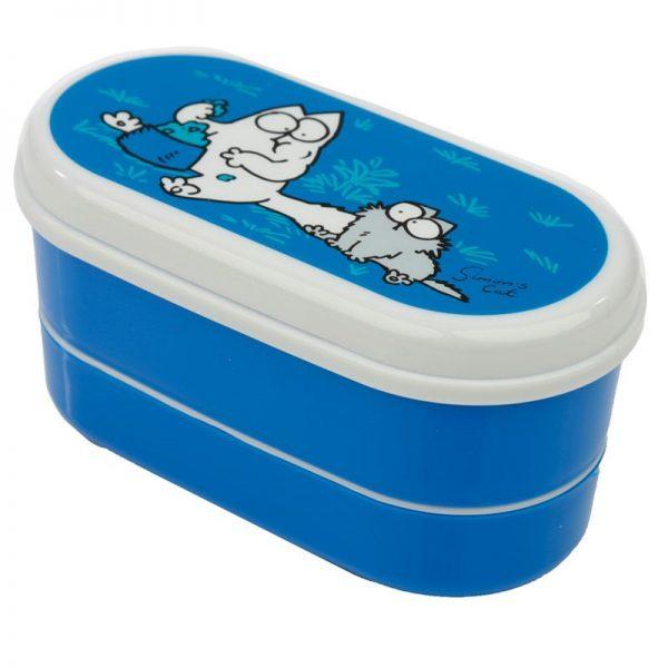 Krabičky na jedlo Simonova mačka - Bento box s vidličkou a lyžičkou Simon's Cat 3 - pre milovníkov mačiek