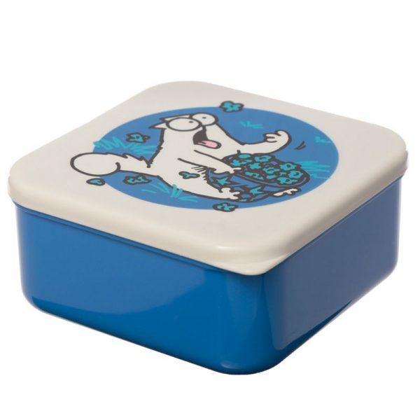 Sada 3 krabičiek na jedlo so Simonovou kočkou - M / L / XL - Simon's Cat 2 - pre milovníkov mačiek