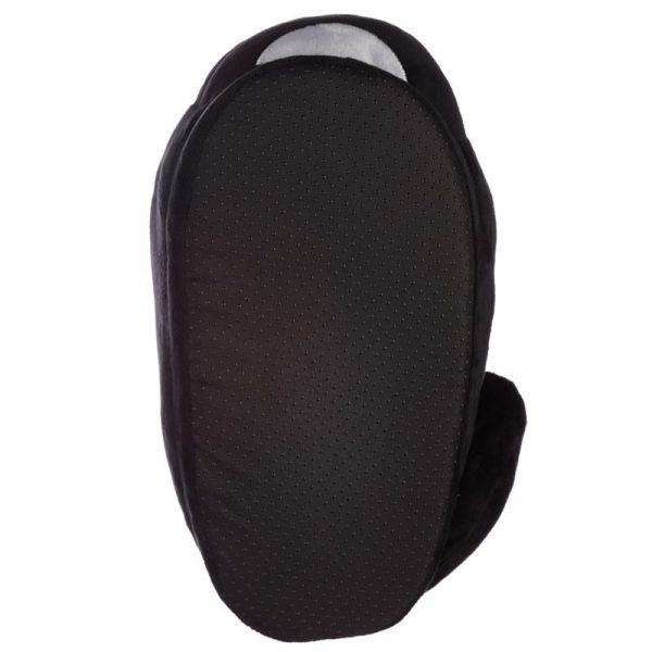 Čierne mačacie papuče Feline Fine - univerzálna veľkosť 6 - pre milovníkov mačiek