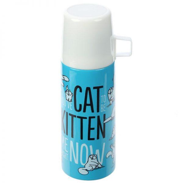 Fľaša z nerezovej ocele Simon's Cat 350 ml 1 - pre milovníkov mačiek