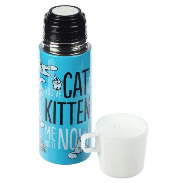 Fľaša z nerezovej ocele Simon's Cat 350 ml 5 - pre milovníkov mačiek