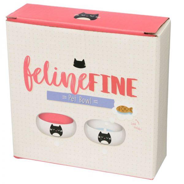 Keramická miska pre mačky na jedlo Feline Fine 3 - pre milovníkov mačiek