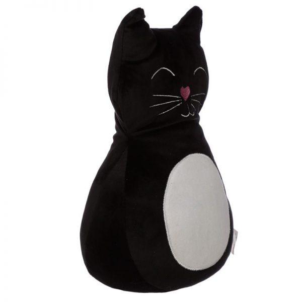 Zarážka do dverí Čierna mačka 3 - pre milovníkov mačiek