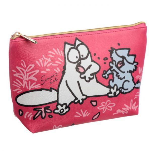 Simon's Cat Stredná toaletná kozmetická taška 3 - pre milovníkov mačiek