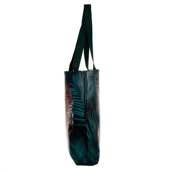 Nákupná taška s motivom veľkej mačičky s pruhmi 3 - pre milovníkov mačiek