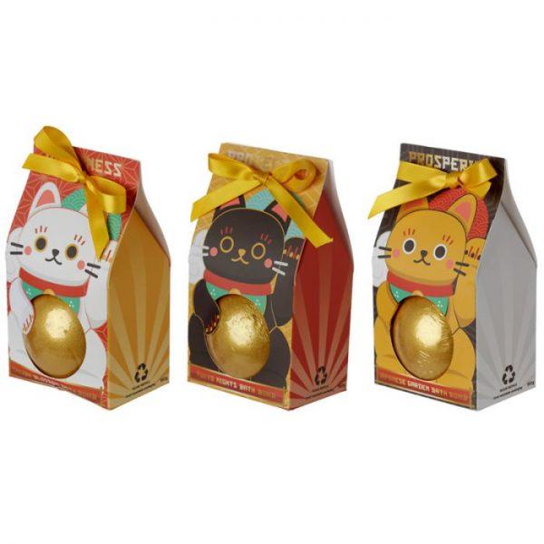 Maneki Neko - mačka šťastie bomba do vody v darčekovom balení 1 - pre milovníkov mačiek