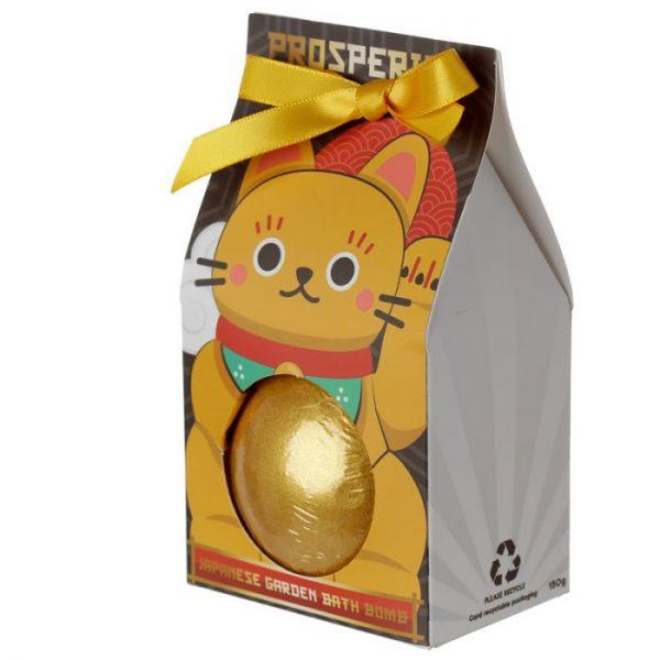 Maneki Neko - mačka šťastie bomba do vody v darčekovom balení 6 - pre milovníkov mačiek