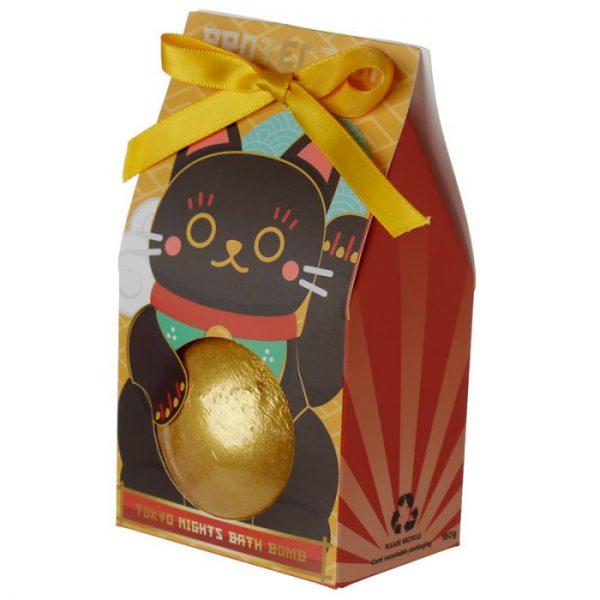 Maneki Neko - mačka šťastie bomba do vody v darčekovom balení 4 - pre milovníkov mačiek