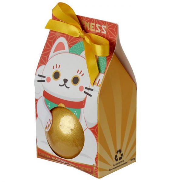 Maneki Neko - mačka šťastie bomba do vody v darčekovom balení 2 - pre milovníkov mačiek