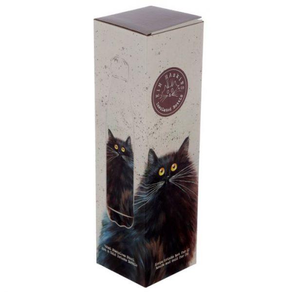 Kim Haskins Čierna Mačka fľaša z nerezovej ocele na tepelnú izoláciu nápojov 500ml 2 - pre milovníkov mačiek