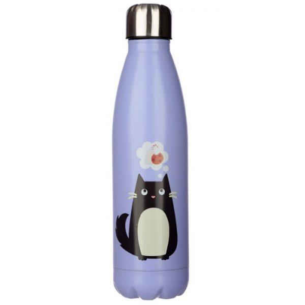 Mačka Feline Fine fľaša z nerezovej ocele na tepelnú izoláciu nápojov 500ml 4 - pre milovníkov mačiek