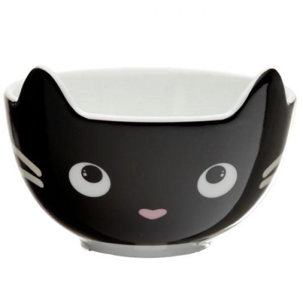 Feline Fine Porcelánový hrnček a miska - set pre deti 6 - pre milovníkov mačiek