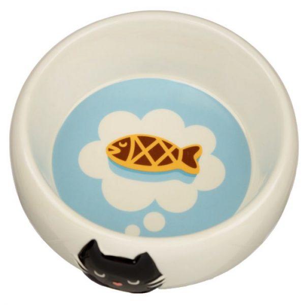 Mačka Feline Fine Ceramic miska na jedlo pre mačky 3 - pre milovníkov mačiek