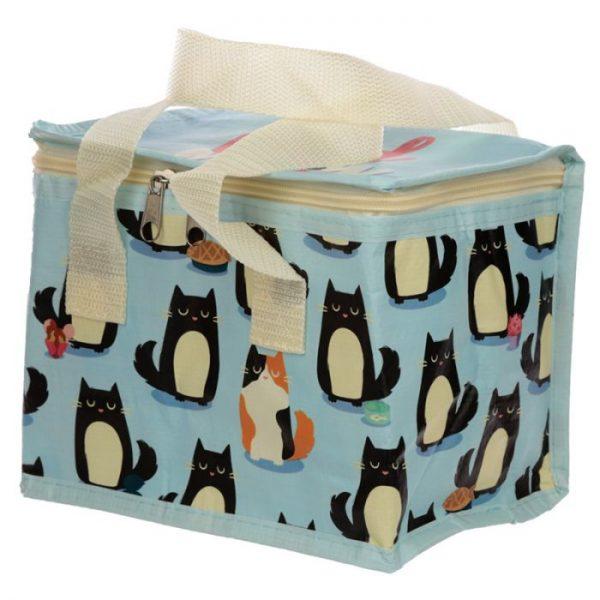 Izolačná taška na desiatu - Mačka Feline Fine 1 - pre milovníkov mačiek