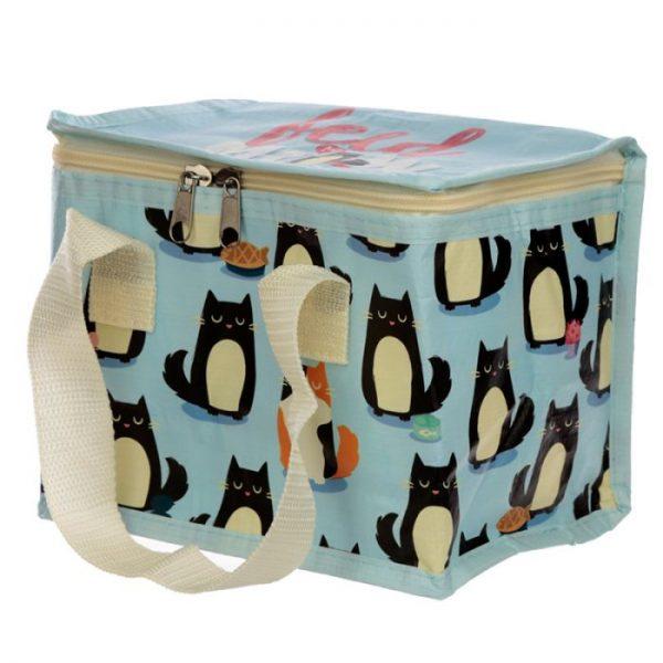 Izolačná taška na desiatu - Mačka Feline Fine 8 - pre milovníkov mačiek