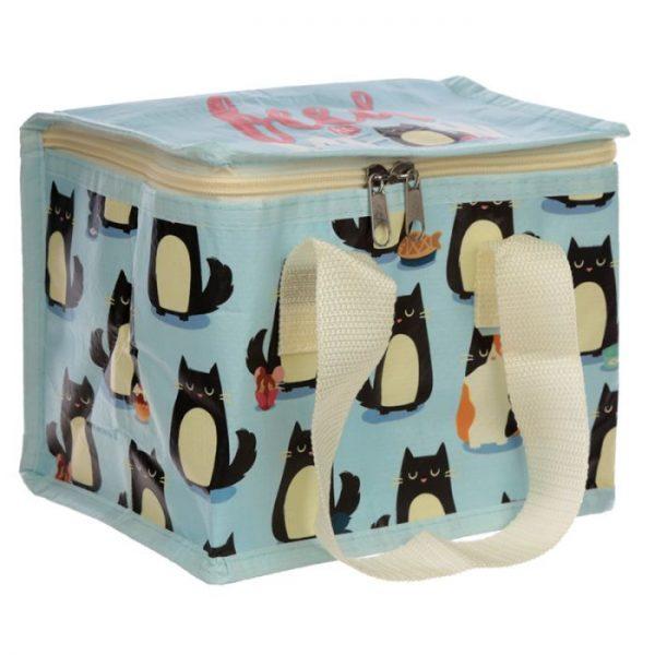 Izolačná taška na desiatu - Mačka Feline Fine 5 - pre milovníkov mačiek