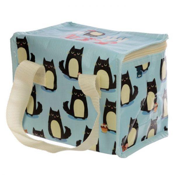 Izolačná taška na desiatu - Mačka Feline Fine 7 - pre milovníkov mačiek